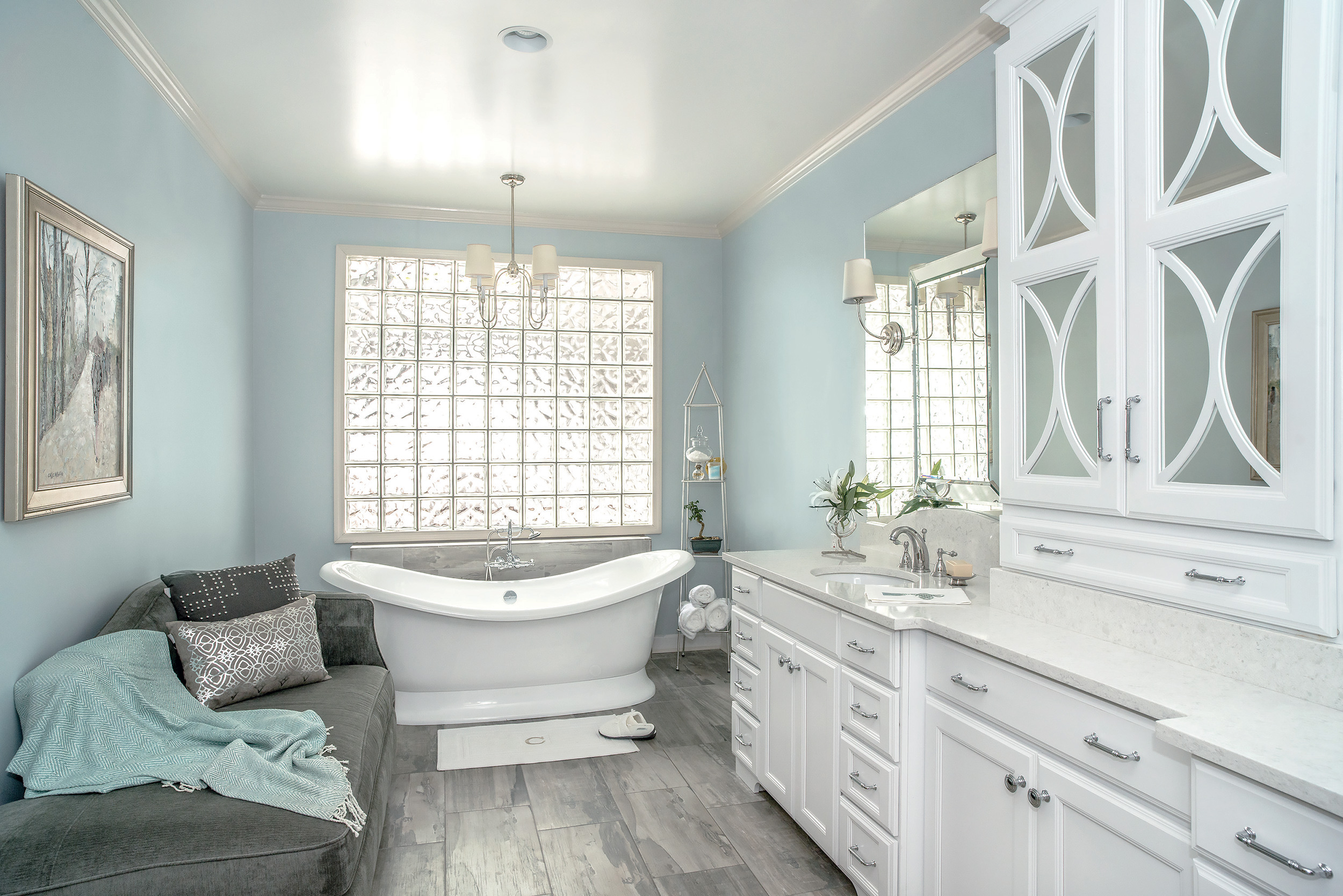 Bathroom gallery for Latest bathroom remodels