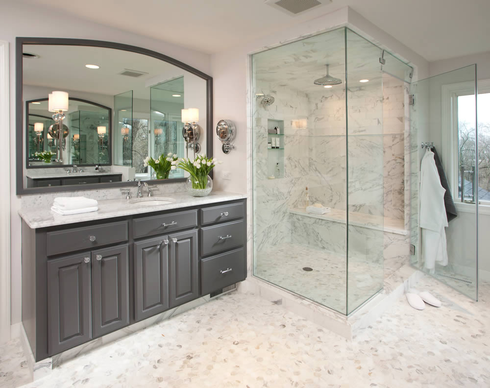 Master bathroom trends -  For Re Sale Factor In St Louis Is That You Still Need A Tub In Your House We Are Seeing More And More Homeowners Removing Their Master Bathroom